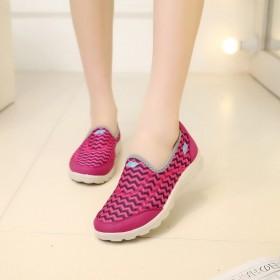 老北京布鞋女春秋季透气女鞋运动厚底休闲鞋女妈妈鞋女