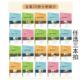 新课标语文导读全20册青少年课外读物小说名著任选