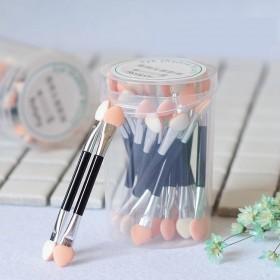 化妆刷眼影棒修容笔化妆棉便携海绵刷