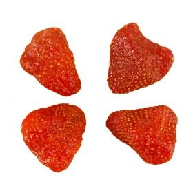 6袋新鲜草莓干共300g零食蜜饯果脯送150g大枣