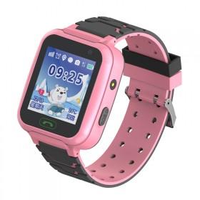 儿童定位手表游泳拍照语音聊天闹钟通话求救防丢小孩天