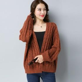短款针织衫镂空开衫小外套外搭披肩秋季新品宽松女装