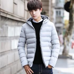 男生冬季外套韩版潮流男2018新款棉衣青少年学生