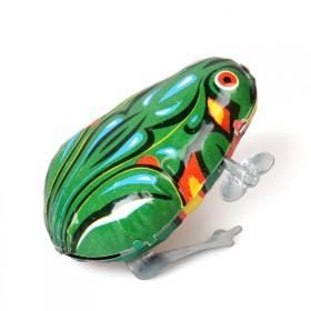 【三只装】铁皮青蛙 婴幼儿发条玩具 80后经典怀旧