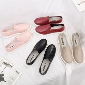 雨鞋女成人低帮浅口雨靴短筒时尚厨房防滑防水鞋胶鞋