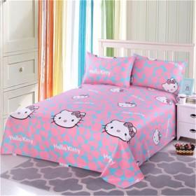 老粗布床单单件纯棉双人