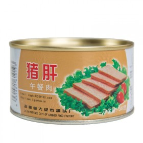 吉林宝达 猪肝罐头 涮火锅早餐户外零食340g