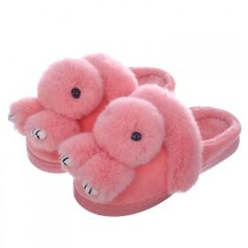儿童棉拖鞋女宝宝棉鞋亲子鞋家居鞋冬季拖鞋布拖鞋忐