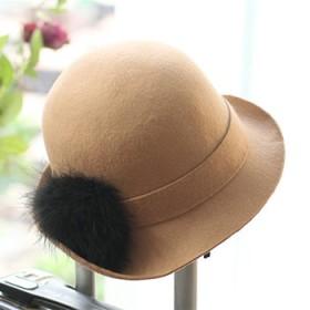 秋冬新款纯羊毛帽子一顶(好品质物超所值))