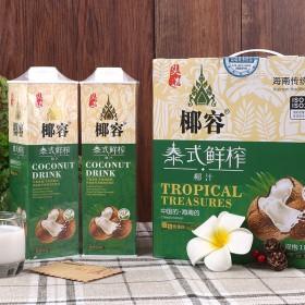 (2瓶装)椰容椰汁植物蛋白饮料1000ml