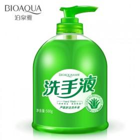 BIOAQUA芦荟护理洗手液泡沫清洁型补水保湿滋