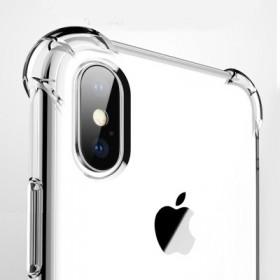 iphoneX手机壳7s8Plus加厚透明硅胶软壳
