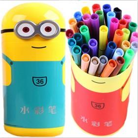 儿童画画水彩笔涂色书宝宝美术启蒙绘画笔画书套装