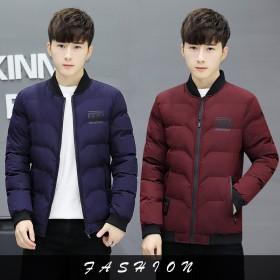冬季外套男士棉衣男棉服2018新款青年短款韩版冬装