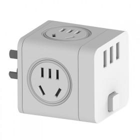 无线魔方插座一转四带3个USB【热销款,限量购】
