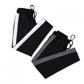 儿童裤子男童女童运动裤2018秋冬新款加绒加厚休闲