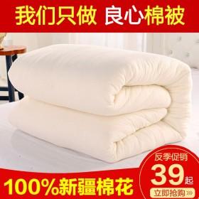 棉被棉絮床垫全棉被芯学生宿舍加厚保暖垫被