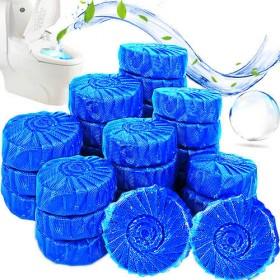 50粒洁厕宝蓝泡泡除臭蓝色清则剂蹲坑宾馆清芬剂