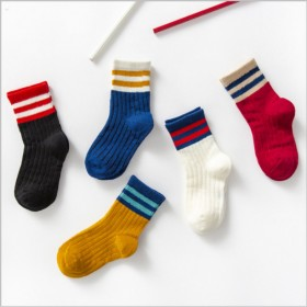 五双装秋冬新款宝宝袜子儿童袜子 卡通