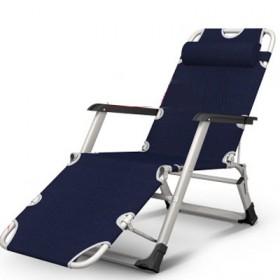 折叠躺椅午休午睡床靠背懒人逍遥沙滩家用单人多功能便
