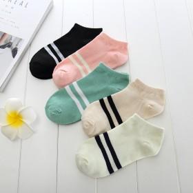 女士 短筒浅口可爱透气女袜子多款可选纯棉袜子百搭吸
