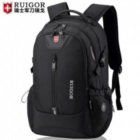 瑞士军刀双肩包男瑞士电脑旅行背包女大容量高中大学初