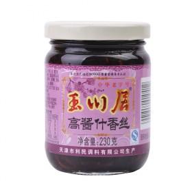 玉川居酱菜什香丝230g 开胃爽口下饭菜榨菜新品
