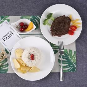 10英寸陶瓷家用盘子 西餐牛排盘菜盘