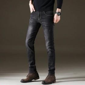 男装2018秋季新款男裤子青少年牛仔裤
