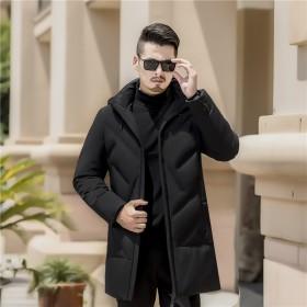 2018新款冬季男士棉衣中长款大码男式棉服