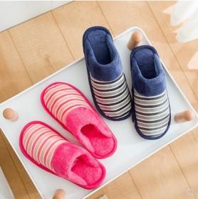 棉拖鞋女冬季居家室内男士情侣厚底包跟保暖防滑月子鞋