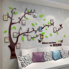 亚克力墙贴沙发背景照片墙客厅卧室装饰相框组合自粘定