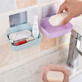 肥皂盒浴室吸盘壁挂式香皂架沥水个性创意卫生间置物架
