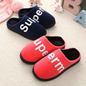 棉拖鞋女厚底冬季可爱家用居家情侣室内保暖棉拖防滑包