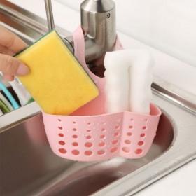 厨房水池收纳挂篮置物篮沥水篮可调节沥水架挂篮