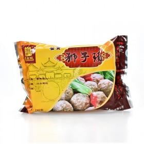 扬州特产 红烧蟹黄狮子头 240g/4只 四喜丸子