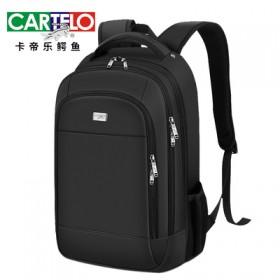 【卡帝乐鳄鱼】大容量学生电脑包商务旅行包双肩包
