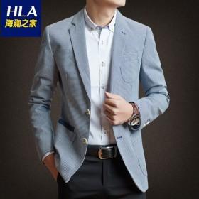 【海澜之家】同款男士韩版修身西服外套男装休闲西装