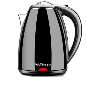 【卫宁】304不锈钢热水壶烧水壶自动断电热水壶2L
