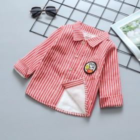 【11.11零点开抢】加绒加厚童装衬衫外套宝宝衫新