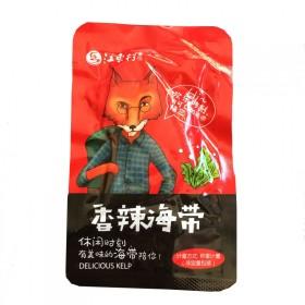 香辣海带片零食海带丝开袋即食500克