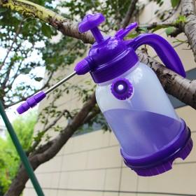 1.2L浇花壶气压式园艺喷壶透明喷壶