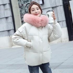 羽绒棉服女宽松百搭学生加厚棉衣女孩短款棉袄外套