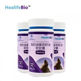 辅助降血脂海豹紫苏油胶囊
