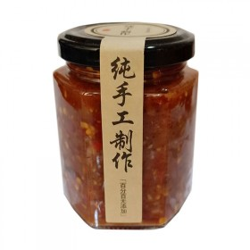 纯手工自制内蒙古牛肉酱农家辣椒酱火锅拌面辣酱