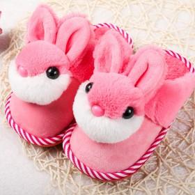 儿童棉拖鞋秋冬季新款卡通保暖防滑男女小孩家居鞋棉鞋