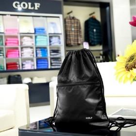 线下商城实体专卖店同款 同质量 双肩抽绳包简易背包