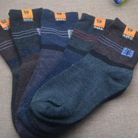 包邮6双装新品新款秋冬男袜女袜混搭棉袜吸汗中筒袜子
