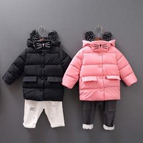 儿童棉服男童女童0-5岁宝宝加厚保暖童装【外套送口