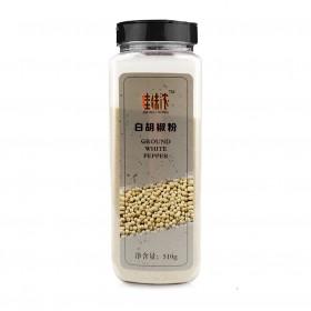 【大瓶500g】白胡椒粉超细白胡椒烧烤配料炒菜调料